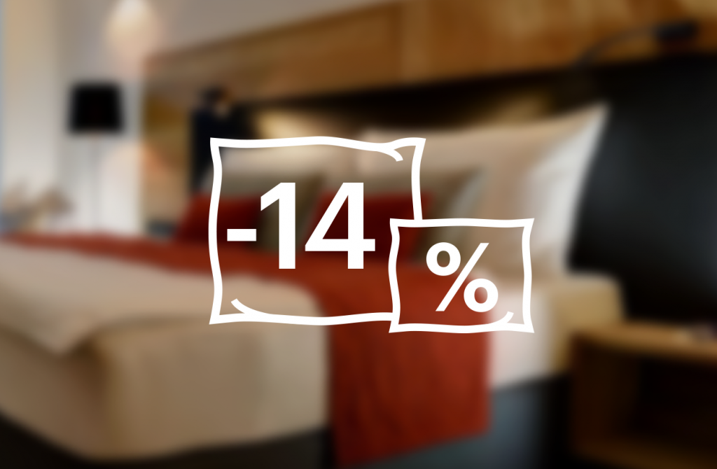 Stay 6 nights or more and SAVE 14%